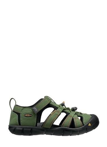 Keen Keen Seacamp II CNX Çocuk Sandalet Yeşil Yeşil